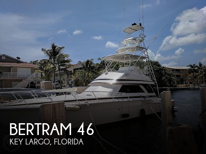 1995 Bertram boat for sale, model of the boat is 46 & Image # 1 of 36