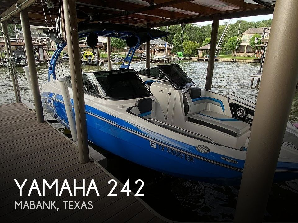 Used Boats For Sale in Tyler, Texas by owner | 2019 Yamaha 242 X E SERIES