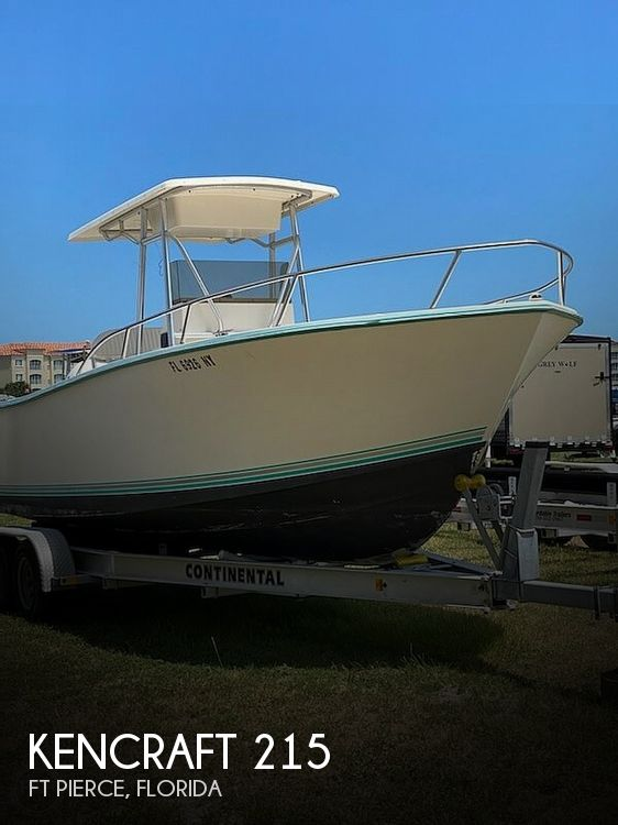 Used Kencraft Boats For Sale by owner | 1998 Kencraft 215 Challenger