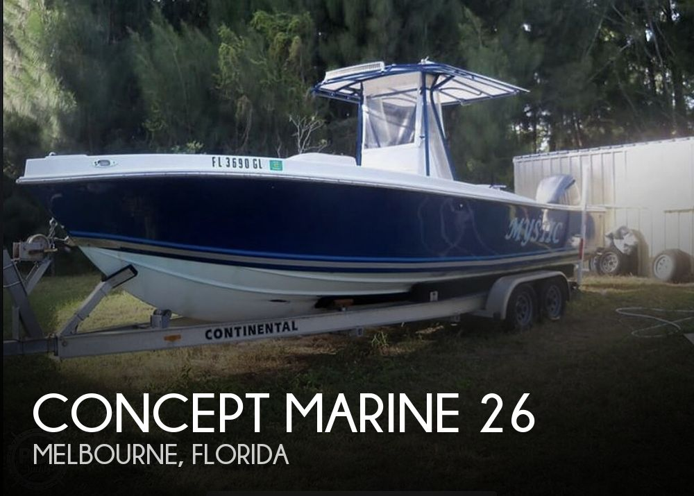 Used Concept Marine Boats For Sale by owner | 1990 Concept Marine 26