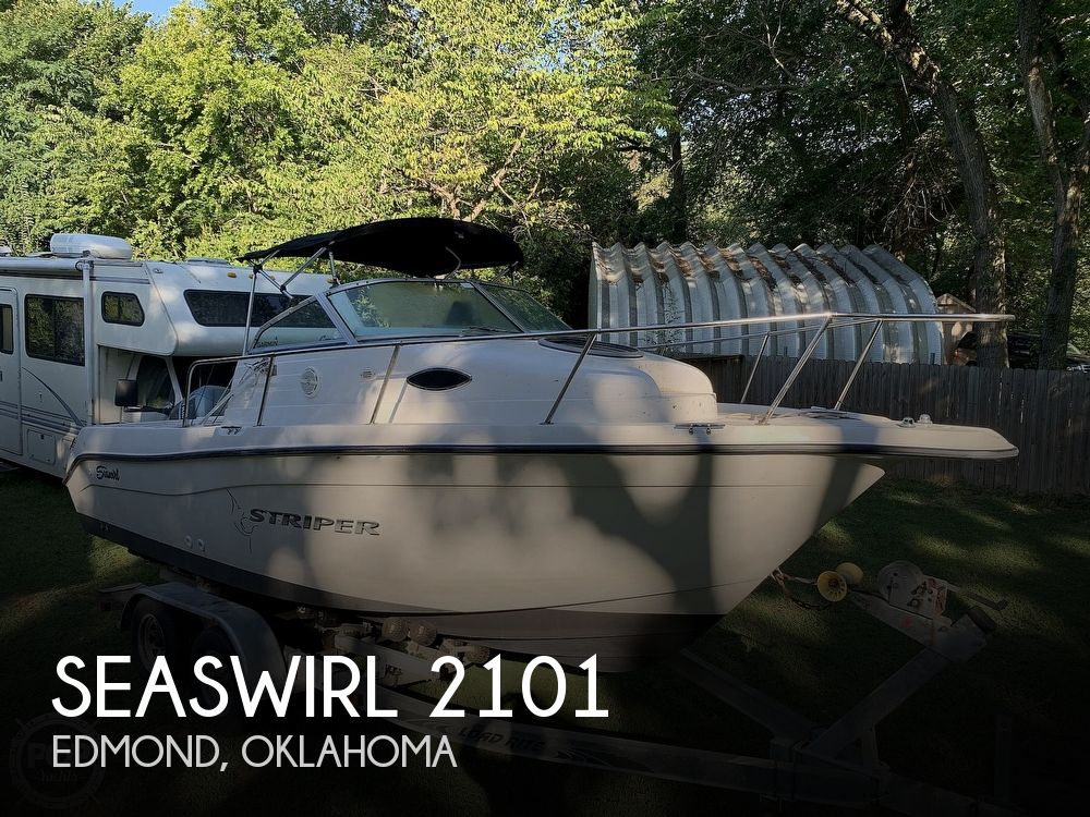 2002 Seaswirl boat for sale, model of the boat is Striper 2101 WA & Image # 1 of 40