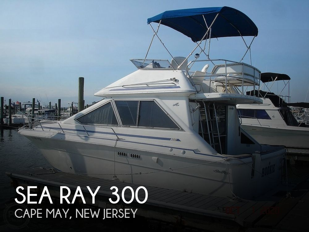 1989 Sea Ray boat for sale, model of the boat is 300 Sedan Bridge & Image # 1 of 40