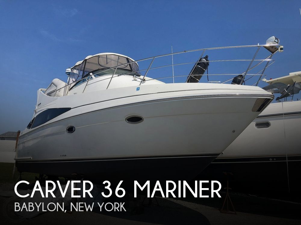 2005 Carver boat for sale, model of the boat is 36 Mariner & Image # 1 of 40