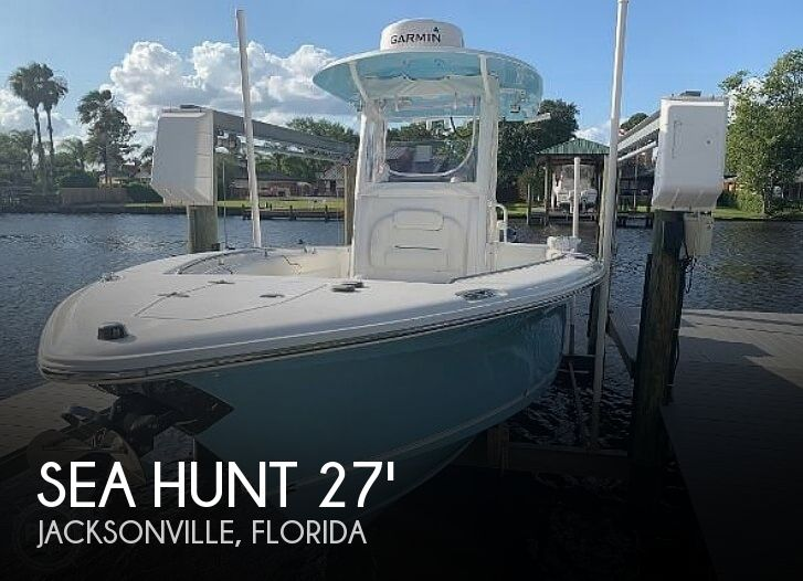 Used Power boats For Sale in Jacksonville, Florida by owner | 2015 27 foot Sea Hunt Gamefish
