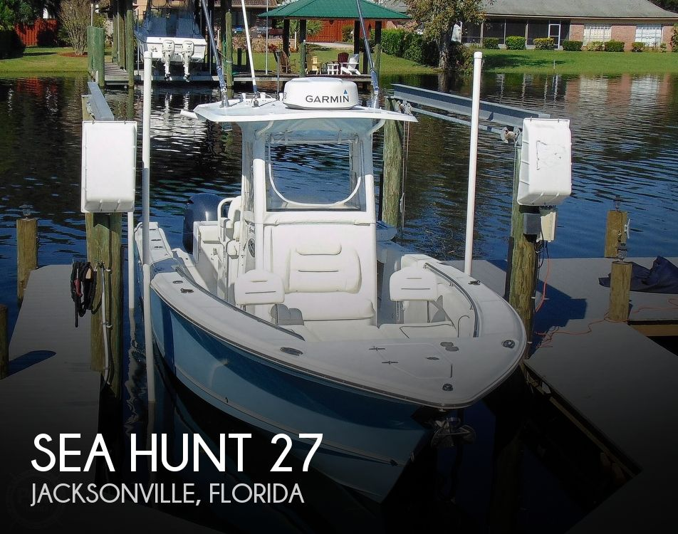 2015 Sea Hunt boat for sale, model of the boat is Game Fish 27 & Image # 1 of 40