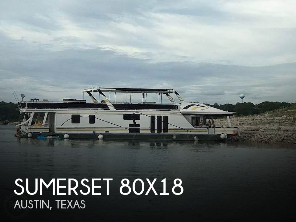 Used Sumerset Houseboats For Sale in Texas by owner | 2002 Sumerset 80x18