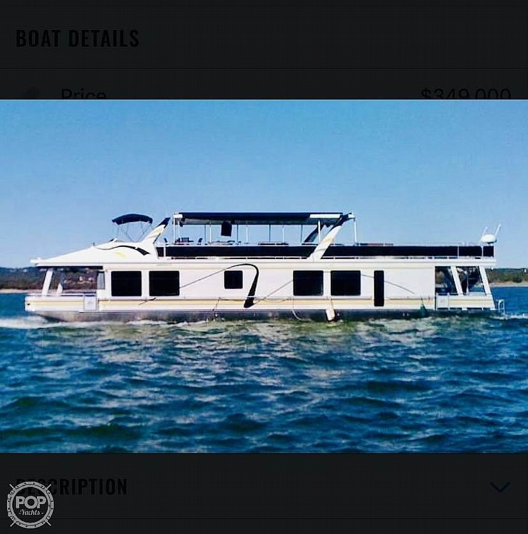 2002 Sumerset Houseboats boat for sale, model of the boat is 80x18 & Image # 2 of 17