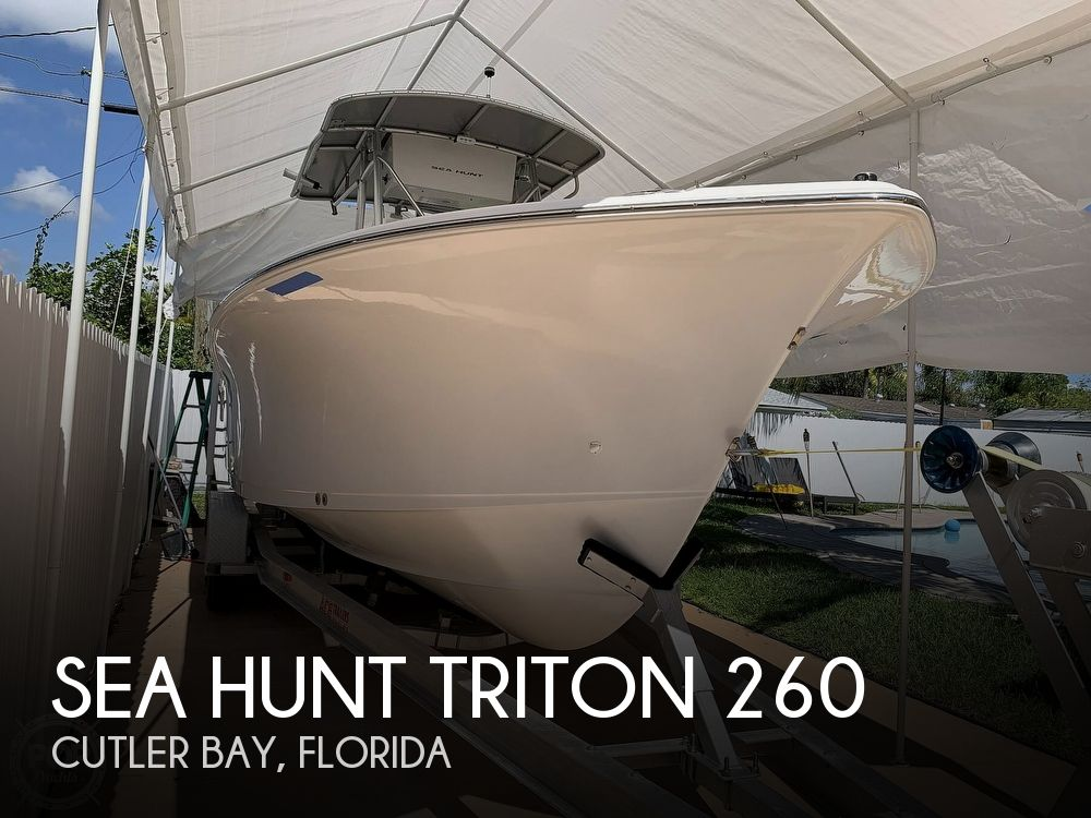 2006 Sea Hunt boat for sale, model of the boat is 260 & Image # 1 of 40