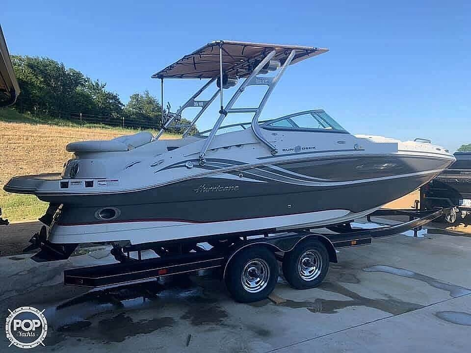 2012 Hurricane boat for sale, model of the boat is 2400 Sun Deck & Image # 3 of 10