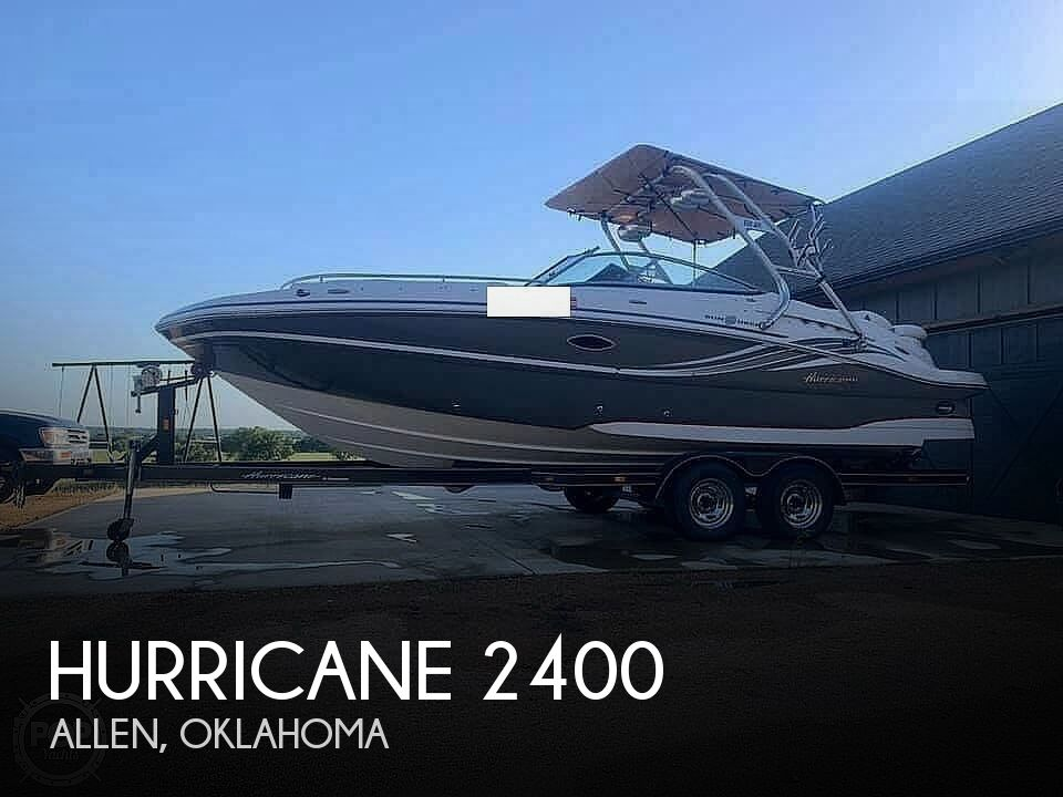 2012 Hurricane boat for sale, model of the boat is 2400 Sun Deck & Image # 1 of 10