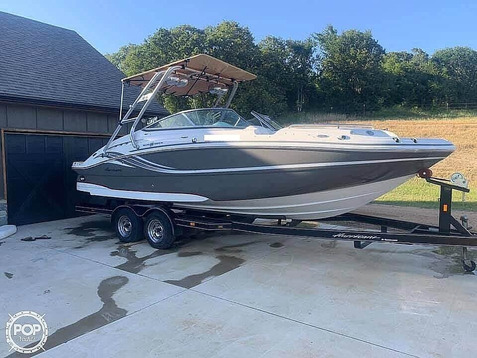 2012 Hurricane boat for sale, model of the boat is 2400 Sun Deck & Image # 2 of 10