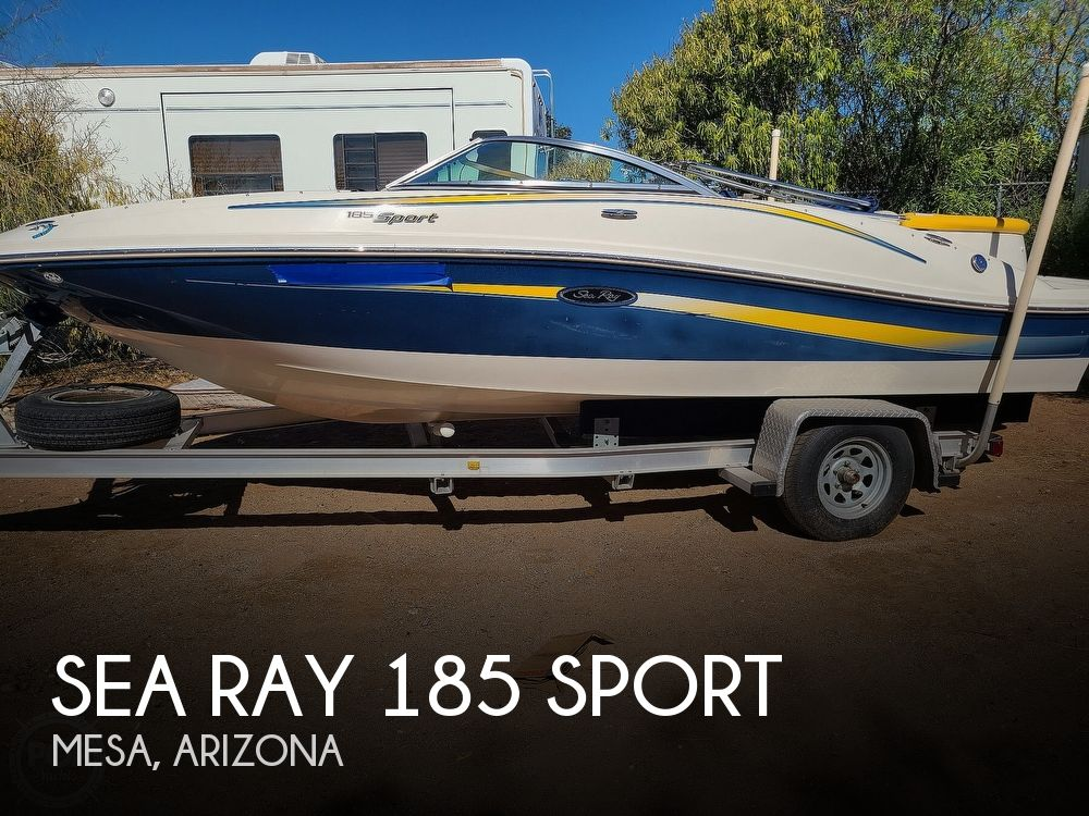 2007 Sea Ray boat for sale, model of the boat is 185 Sport & Image # 1 of 40