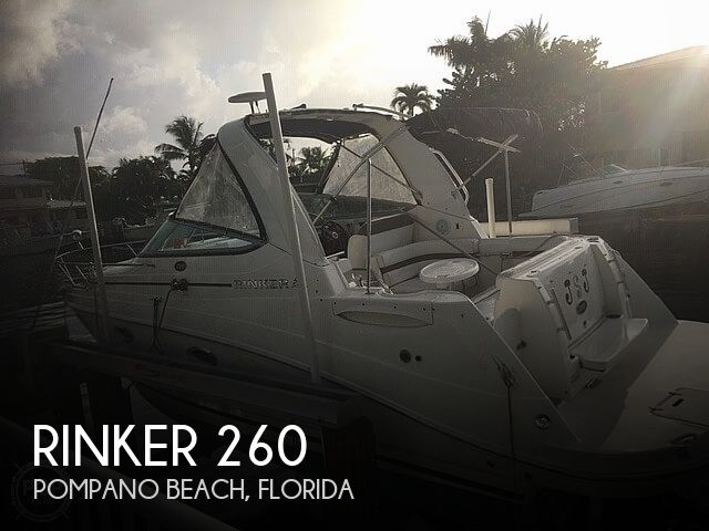 2008 Rinker boat for sale, model of the boat is 260 & Image # 1 of 40