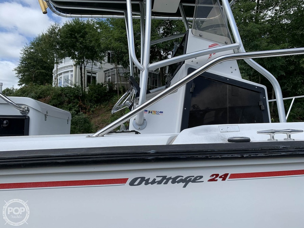 1997 Boston Whaler boat for sale, model of the boat is 24 Outrage & Image # 13 of 40