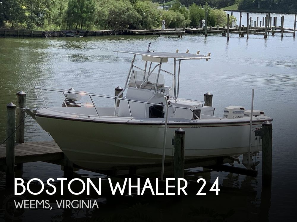 1997 BOSTON WHALER 24 OUTRAGE for sale