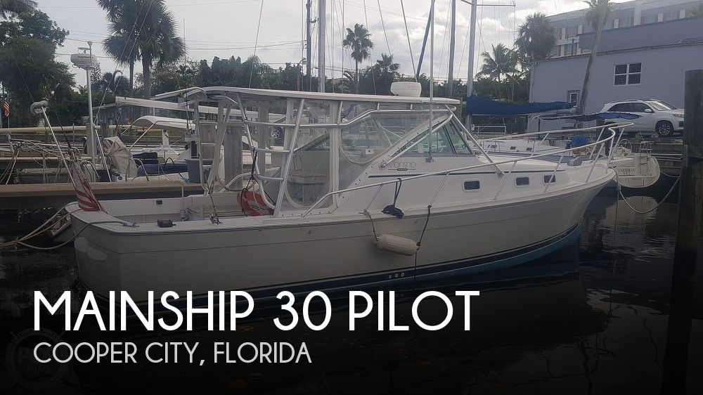 1998 Mainship boat for sale, model of the boat is 30 Pilot & Image # 1 of 40