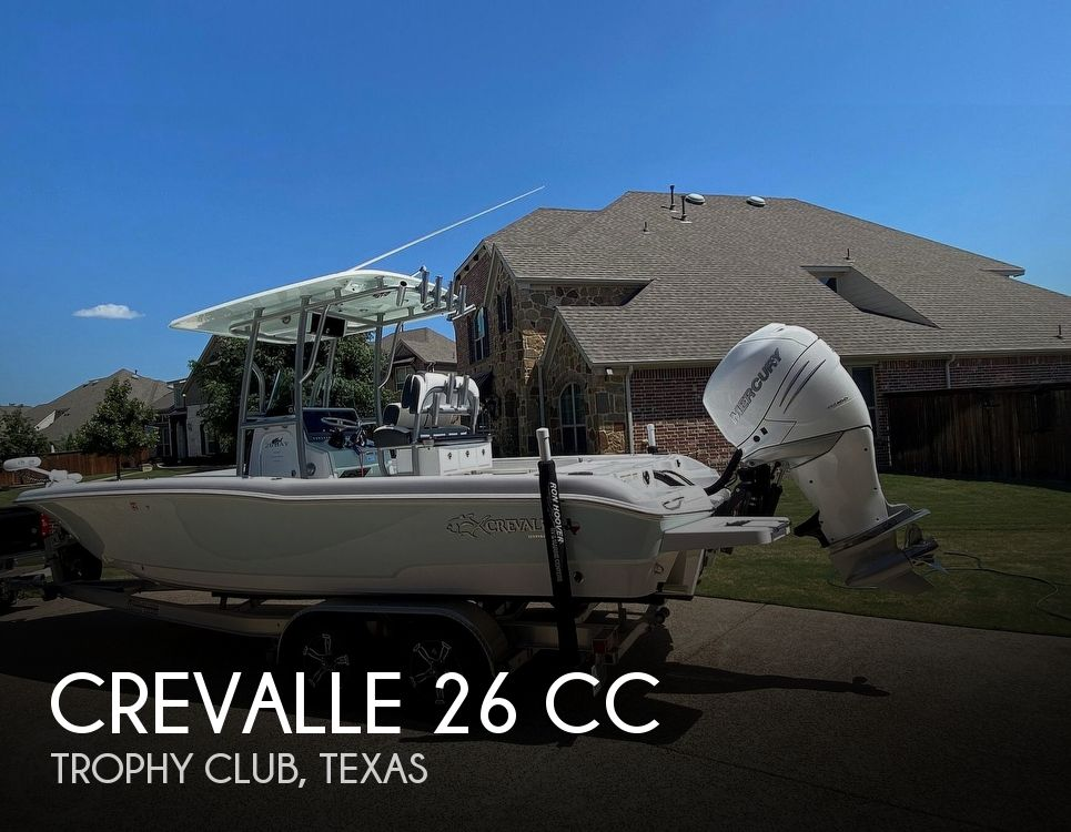 2018 Crevalle boat for sale, model of the boat is 26 CC & Image # 1 of 3