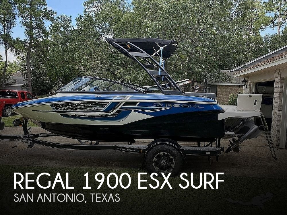 2018 REGAL 1900 ESX SURF for sale