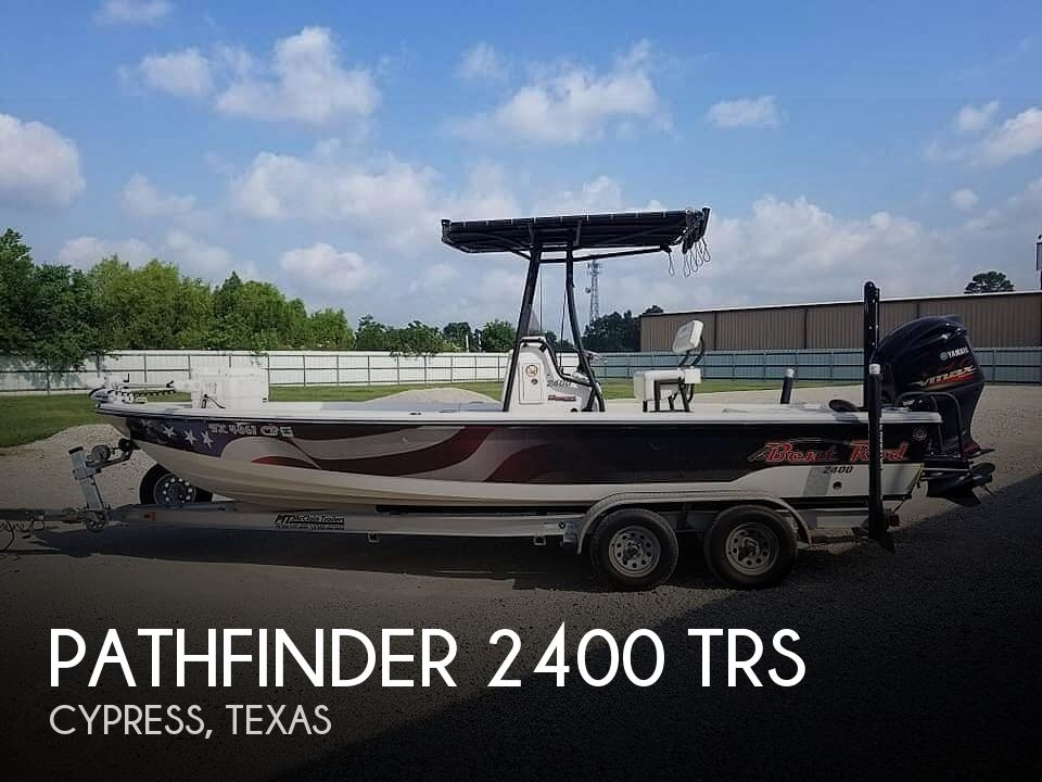 2014 Pathfinder boat for sale, model of the boat is 2400 TRS & Image # 1 of 6