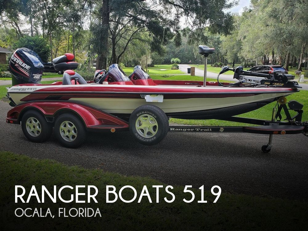 2007 Ranger Boats boat for sale, model of the boat is 519 DVX Tour Edition & Image # 1 of 40