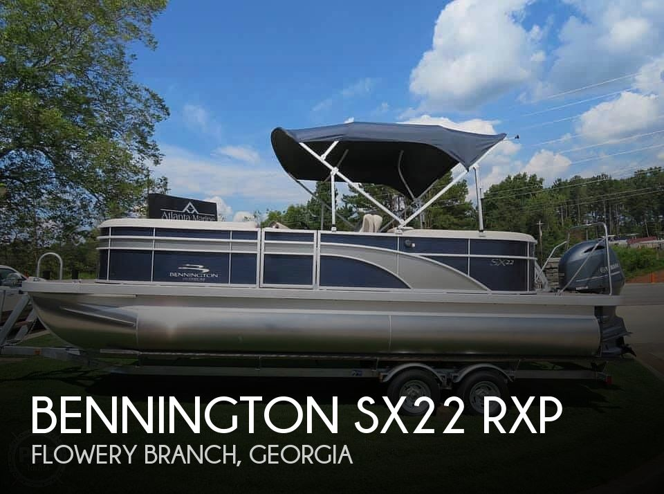 2019 Bennington boat for sale, model of the boat is SX22 RXP & Image # 1 of 40