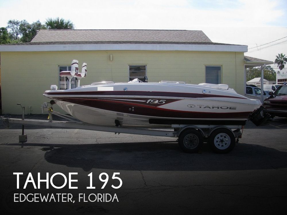 2013 Tracker Boats boat for sale, model of the boat is Tahoe 195 & Image # 1 of 40