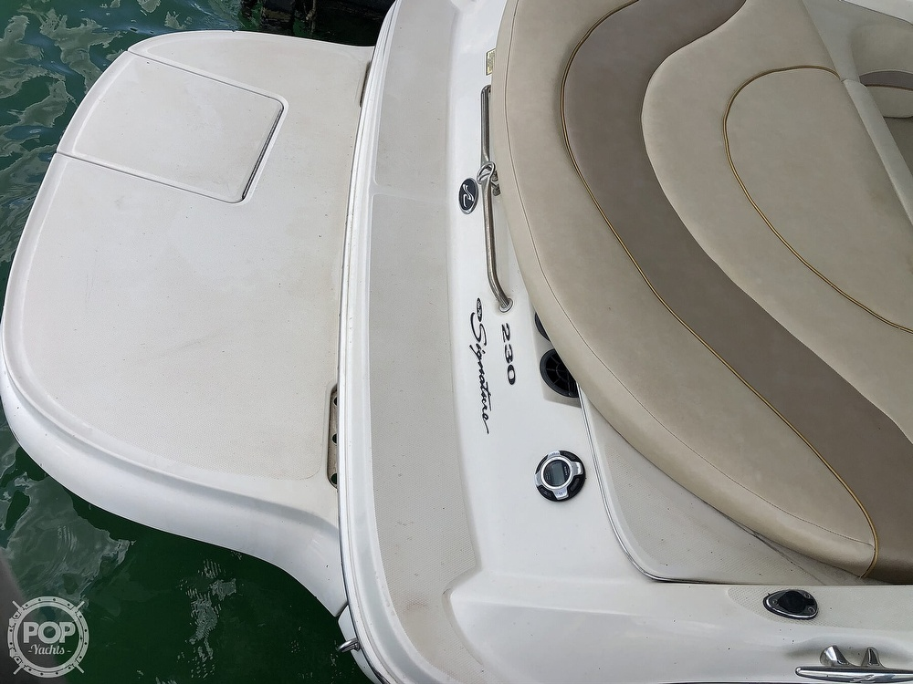 2001 Sea Ray boat for sale, model of the boat is 230 Signature & Image # 41 of 41