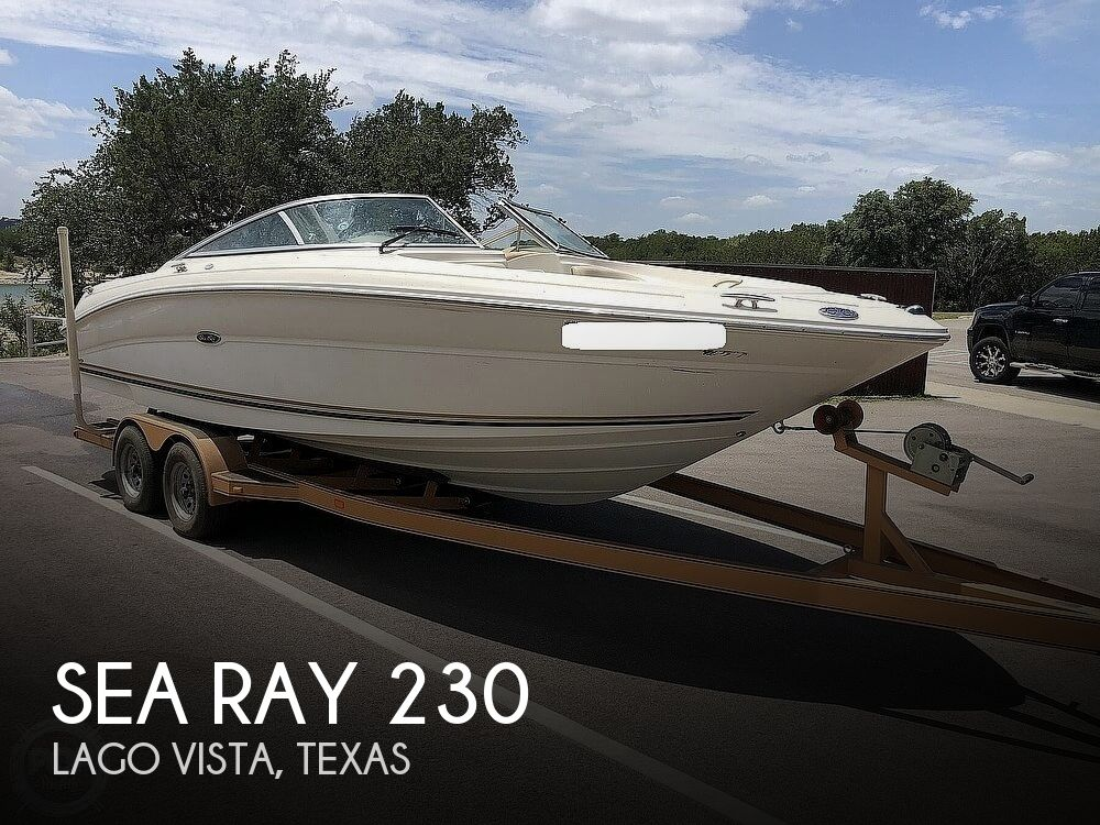 2001 Sea Ray boat for sale, model of the boat is 230 Signature & Image # 1 of 41
