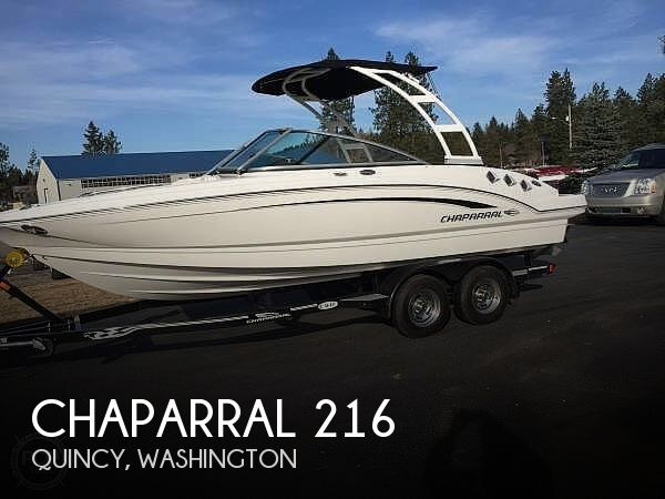 Used Chaparral Ski Boats For Sale by owner | 2015 Chaparral 216