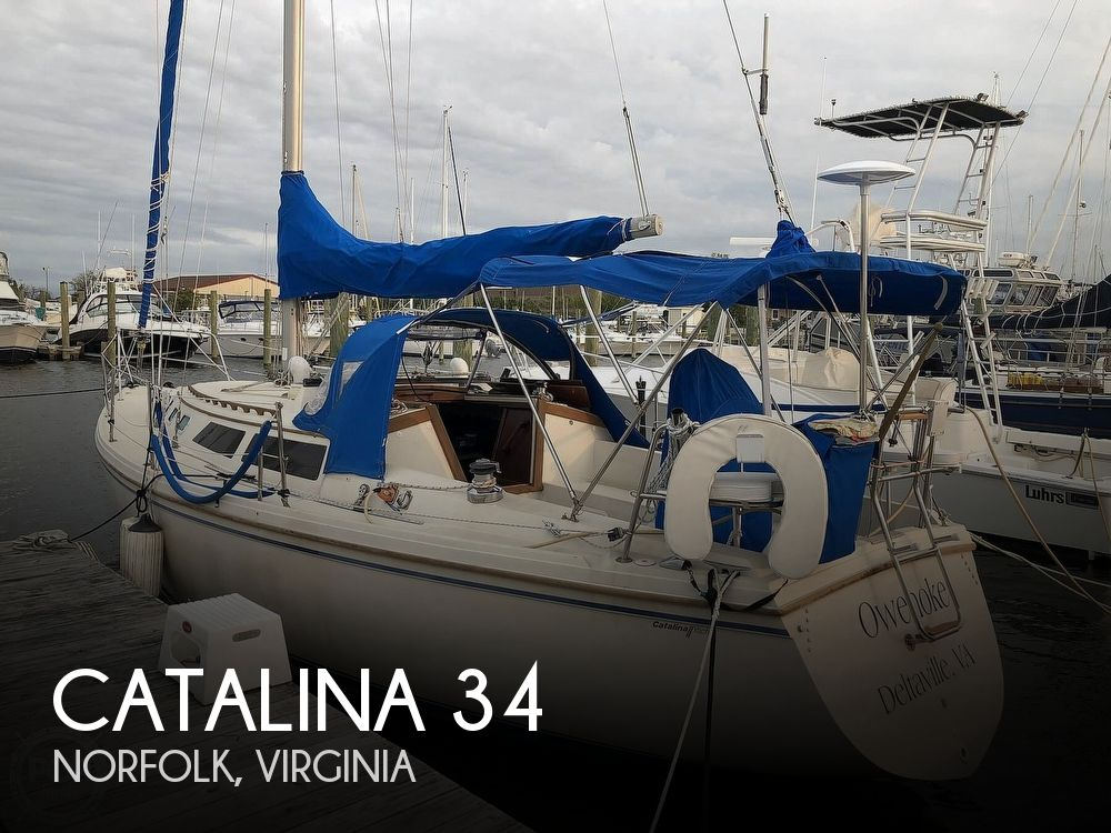 1988 CATALINA YACHTS 34 for sale