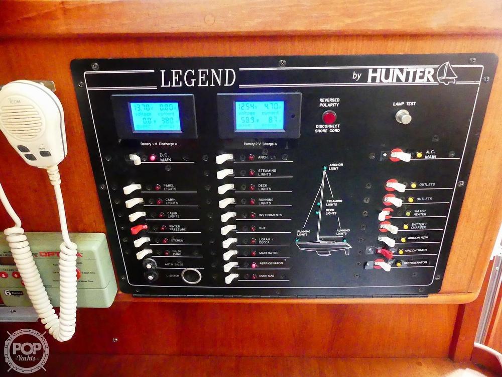 1992 Hunter boat for sale, model of the boat is Legend 37.5 & Image # 29 of 40