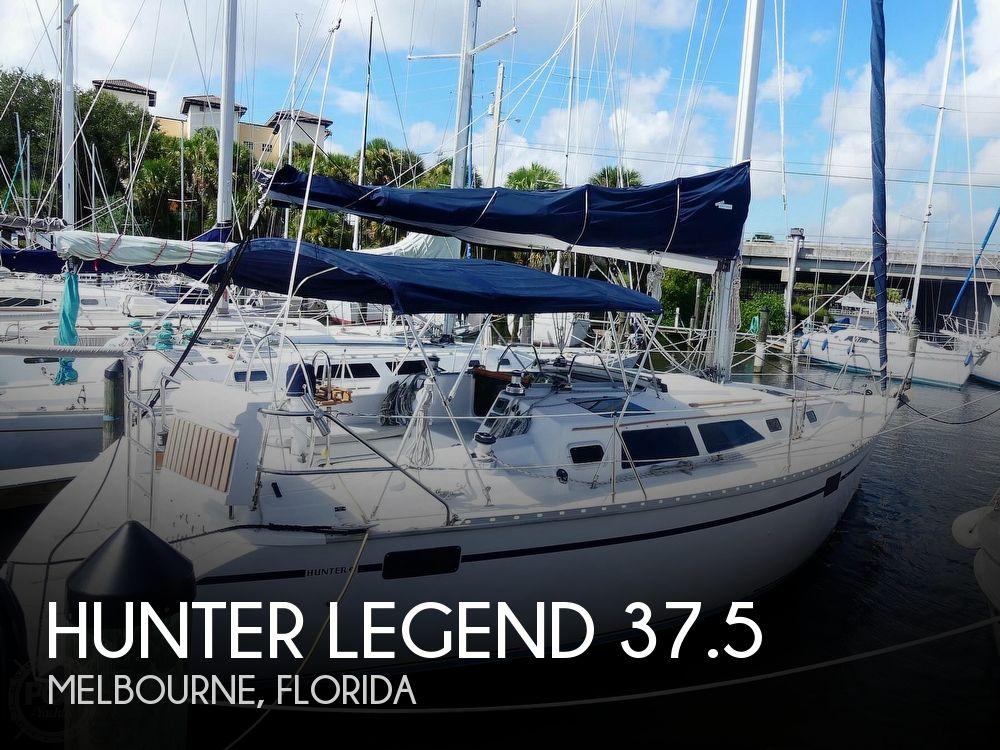 1992 Hunter boat for sale, model of the boat is Legend 37.5 & Image # 1 of 40