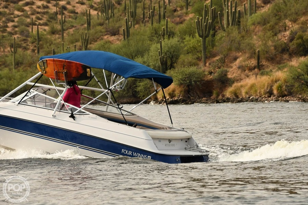 1993 Four Winns boat for sale, model of the boat is Horizon 210 & Image # 7 of 40