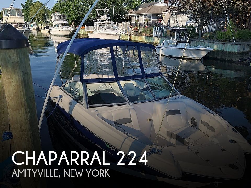 Used Deck Boats For Sale by owner | 2014 Chaparral Sunesta 224