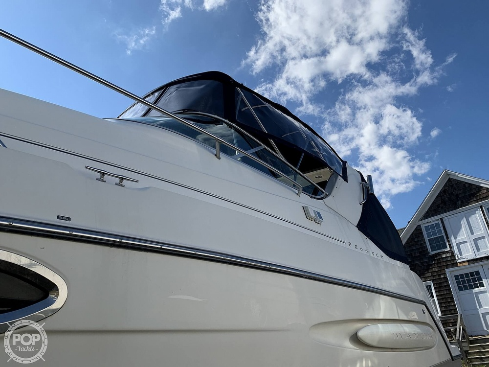 2000 Maxum boat for sale, model of the boat is 2800 SCR & Image # 37 of 40