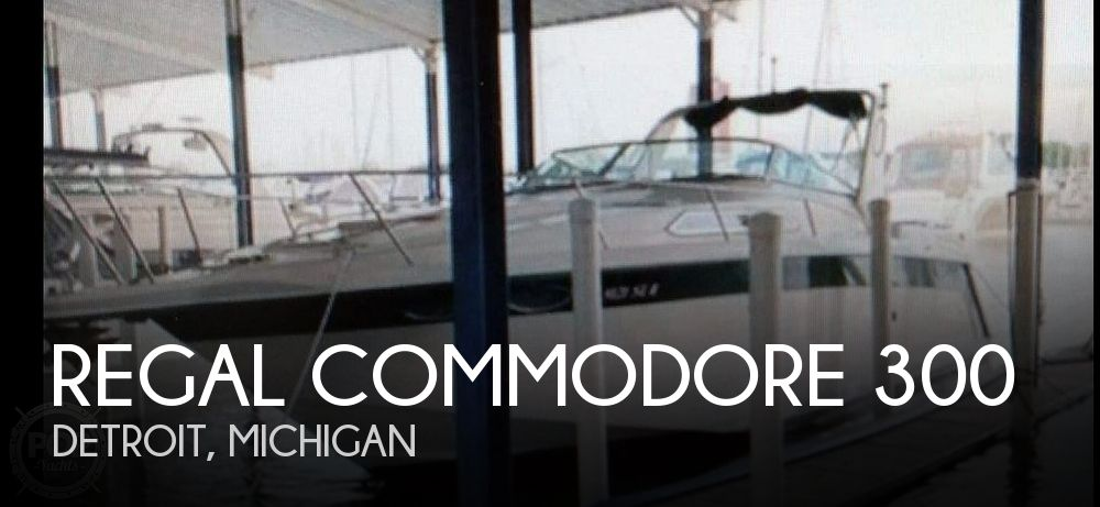 Used Regal Commodore 30 Boats For Sale by owner | 1993 Regal Commodore 300