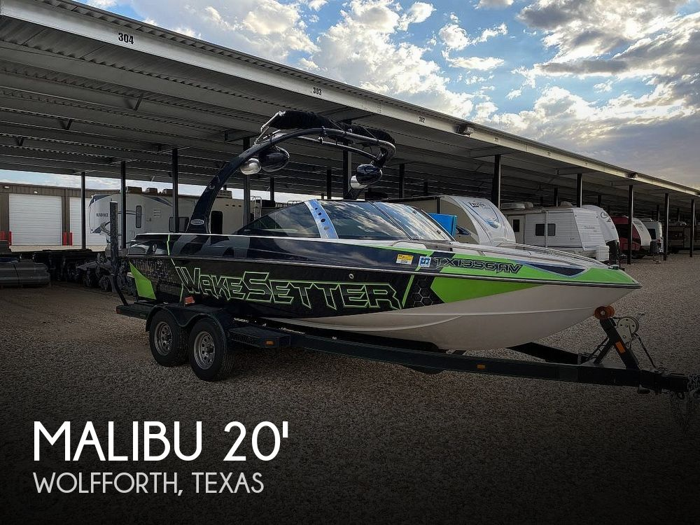 Used Boats For Sale in Lubbock, Texas by owner | 2007 20 foot Malibu Wakesetter VTX