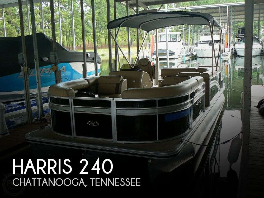 2018 Harris boat for sale, model of the boat is Cruiser 240 Hydro-Therapy & Image # 1 of 40