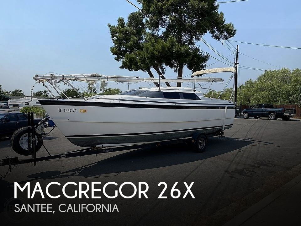 Used MacGregor 26X Boats For Sale in California by owner | 1996 MacGregor 26X