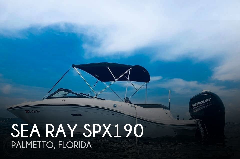 Used Sea Ray Ski Boats For Sale by owner | 2019 Sea Ray SPX190