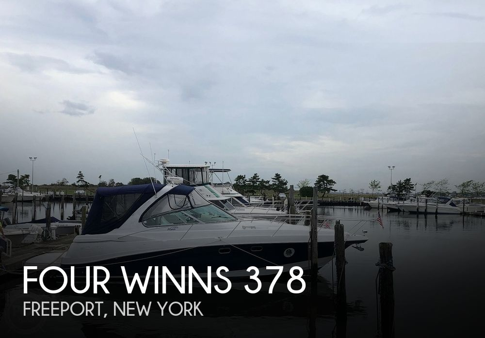 2004 Four Winns boat for sale, model of the boat is 378 Vista & Image # 1 of 40