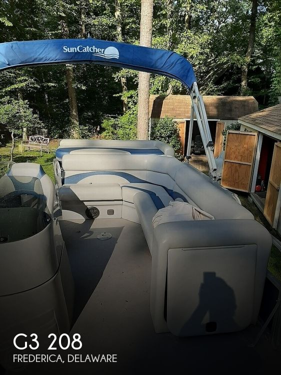 2012 G3 Boats boat for sale, model of the boat is Suncatcher 208 LV Cruise & Image # 1 of 22