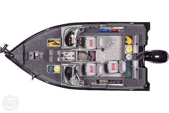 2014 Tracker Boats boat for sale, model of the boat is Pro V Guide 175 Wt & Image # 6 of 7