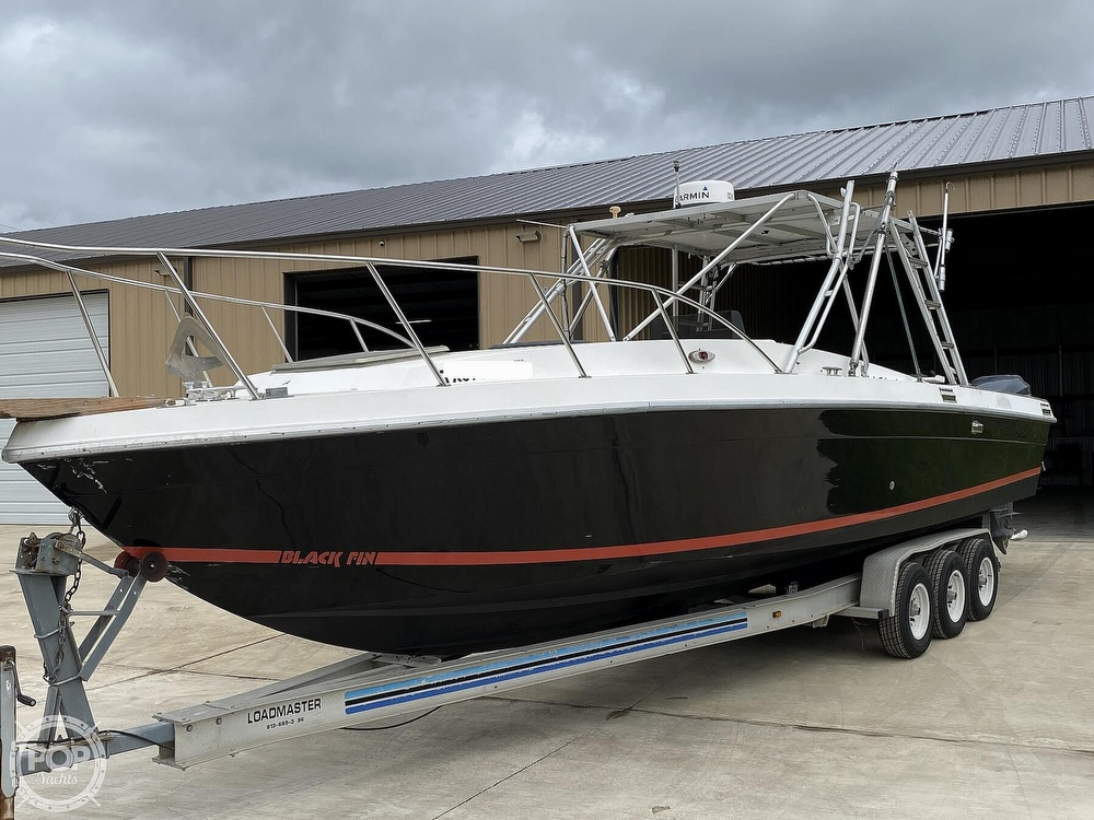 1983 Blackfin boat for sale, model of the boat is 33 Sportfish & Image # 2 of 40