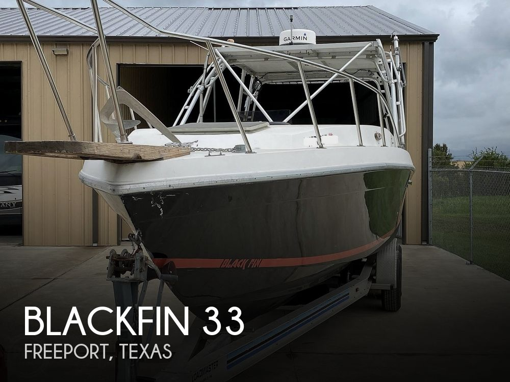 1983 BLACKFIN 33 SPORTFISH for sale