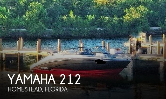 Used Yamaha Boats For Sale in Florida by owner | 2018 Yamaha 212 Limited S