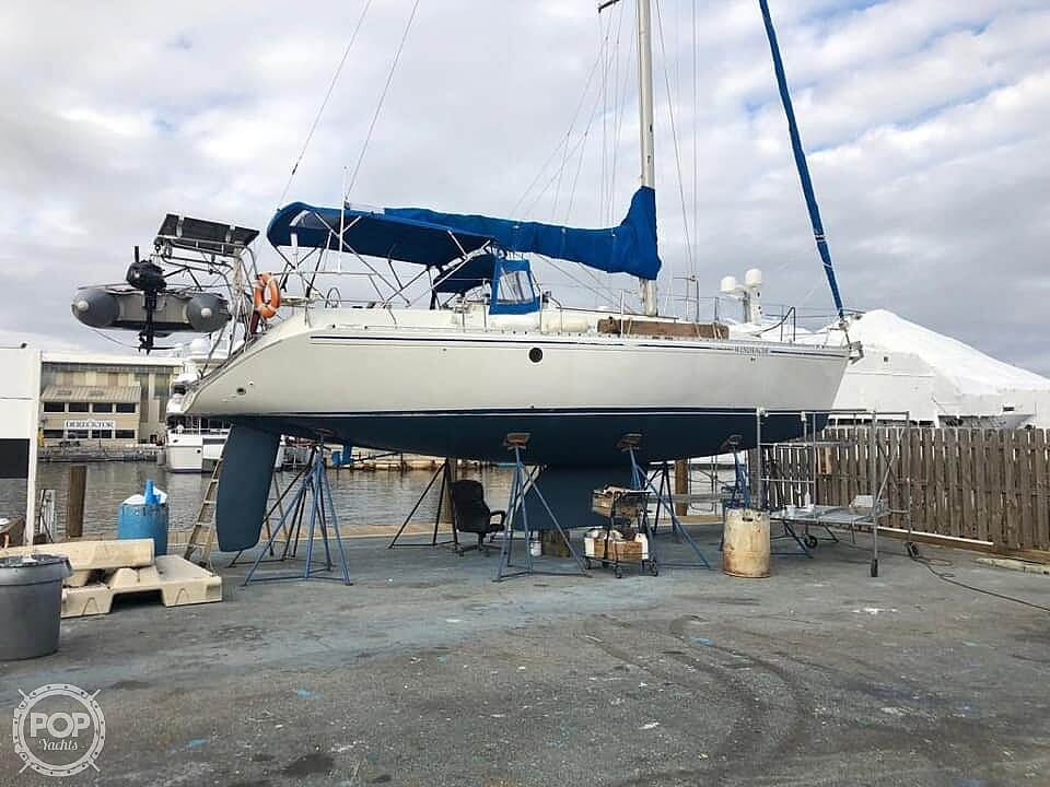 1991 Beneteau boat for sale, model of the boat is 38 M & Image # 32 of 40