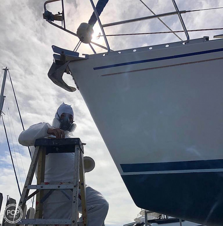 1991 Beneteau boat for sale, model of the boat is 38 M & Image # 37 of 40