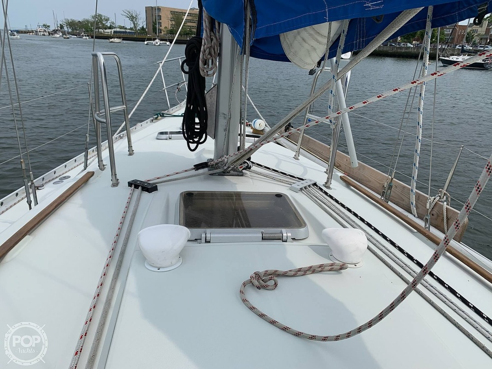 1991 Beneteau boat for sale, model of the boat is 38 M & Image # 40 of 40