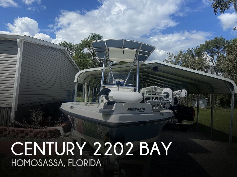2007 CENTURY 2202 BAY for sale